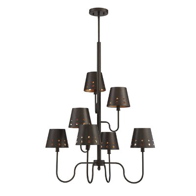 Maximo 7-Light Shaded Chandelier