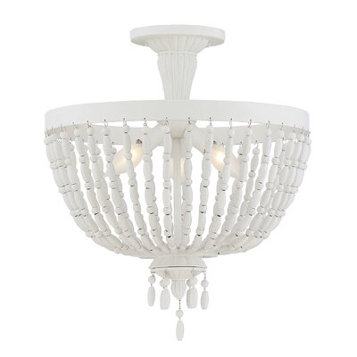 Purmerend 3-Light Semi Flush Mount