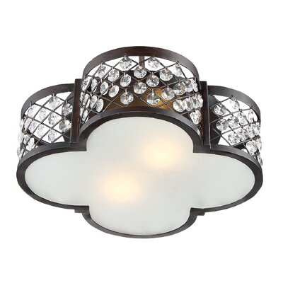 Midsomer Norton 2-Light Semi Flush Mount