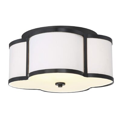Chitwood 3-Light Flush Mount Finish: Classic Bronze