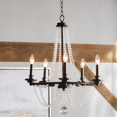 Byanca 5-Light Candle-Style Chandelier
