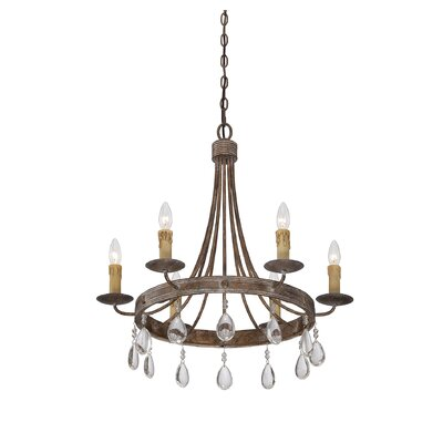 Carlisle 6-Light Candle-Style Chandelier