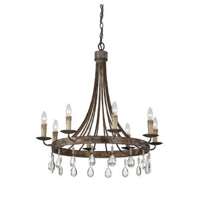 Carlisle 8-Light Candle-Style Chandelier