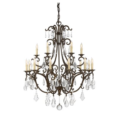 Marina Way 18-Light Crystal Chandelier