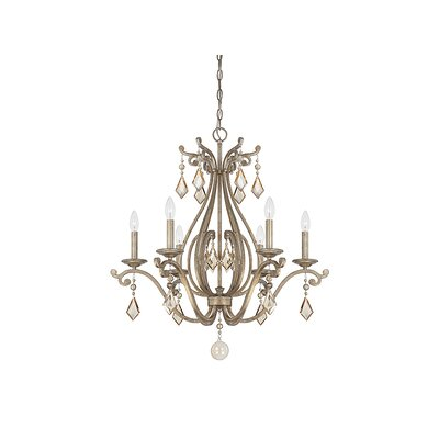 Marist 6-Light Candle-Style Chandelier