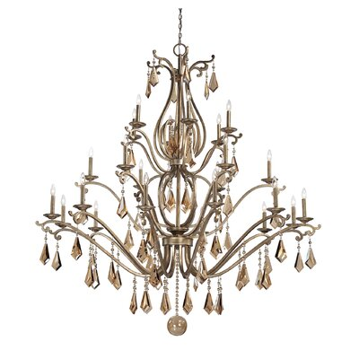 Rothchild 24-Light Crystal Chandelier