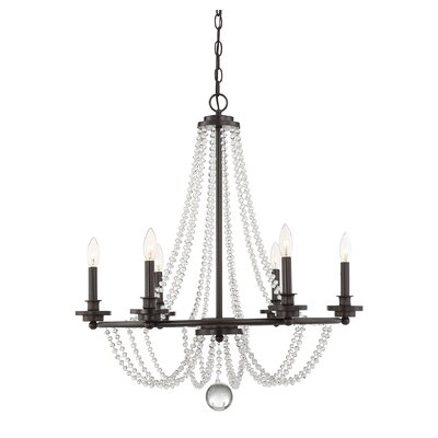 Byromville 6-Light Candle-Style Chandelier