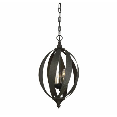 Carmel 3-Light Open Foyer Pendant