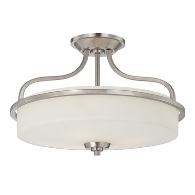 Charlton 3-Light Semi Flush Mount