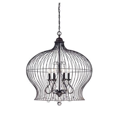 Birdcage 6-Light Foyer Pendant