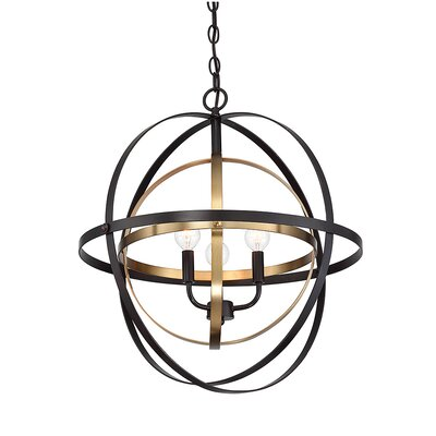 Beckett 3-Light Globe Pendant