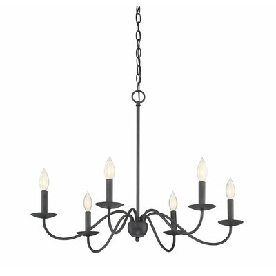 Farell 6-Light Candle Style Chandelier