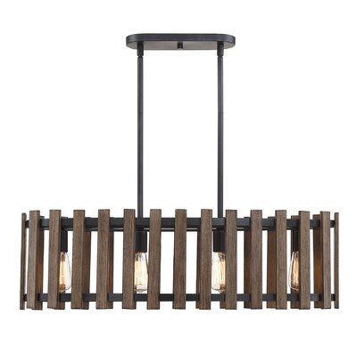 Baird 4-Light Drum Chandelier