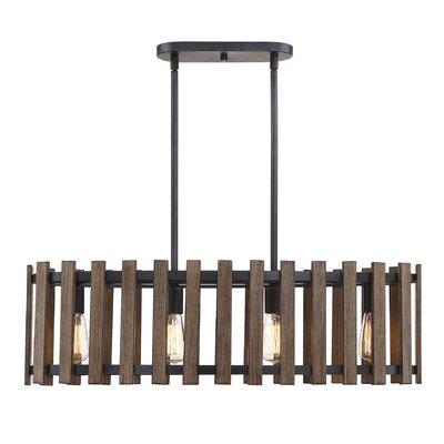Baird 4-Light Drum Chandelier
