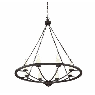 Callion 8-Light Candle-Style Chandelier