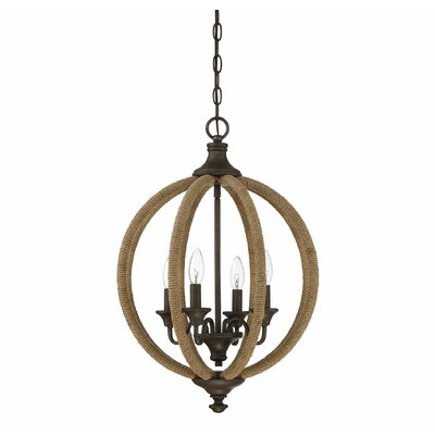 Georgianna 4-Light Foyer Pendant