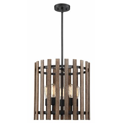 Baird 5-Light Drum Pendant