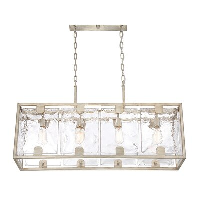 Brase 4-Light Kitchen Island Pendant
