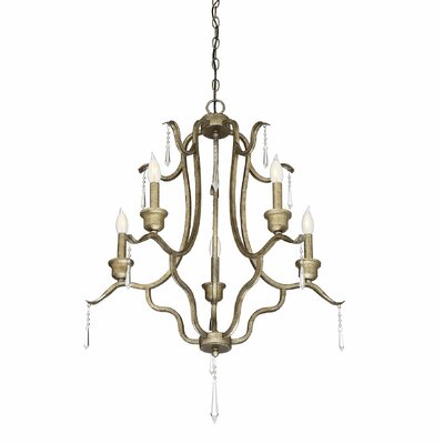Cobbett 5-Light Candle-Style Chandelier