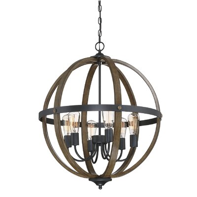 Kathrina 6-Light Globe Pendant