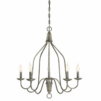 Geeta 5-Light Candle-Style Chandelier