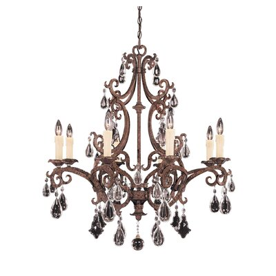 Provenciale 8-Light Crystal Chandelier