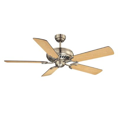 52 Dodson 5-Blade Ceiling Fan Finish: Satin Nickel