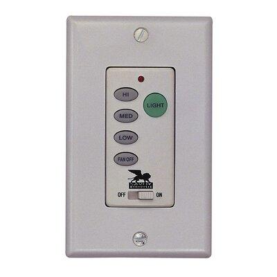 Non- Reversible Fan / Light Wall Control