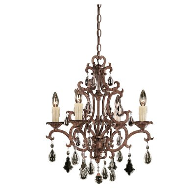 Provenciale 4-Light Crystal Chandelier
