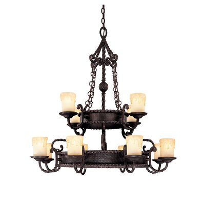San Gallo 12-Light Candle-Style Chandelier