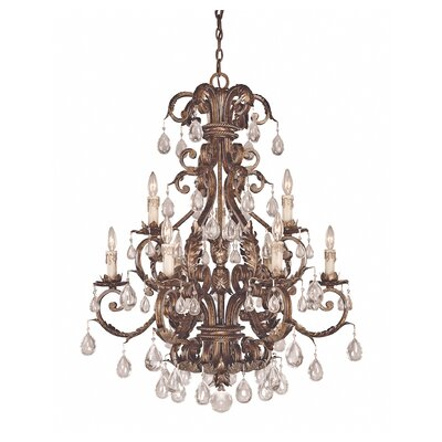 Marchand 9-Light Crystal Chandelier