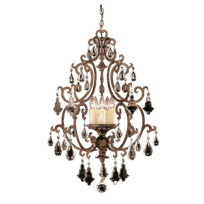 Provenciale 5-Light Crystal Chandelier