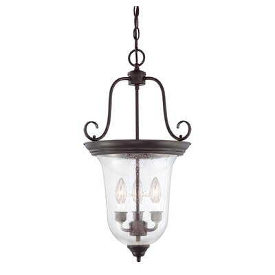 Cowger Lanterns 3-Lights Foyer Pendant