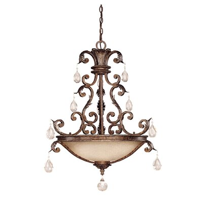 Marchand 5-Light Inverted Pendant