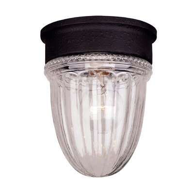 Jelly Jar 1-Light Flush Mount