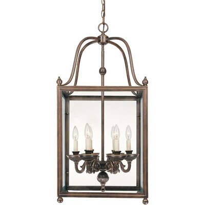 Crabapple 6-Light Foyer Pendant