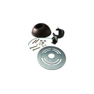 Blaune Ceiling Adapter Kit Finish: Black