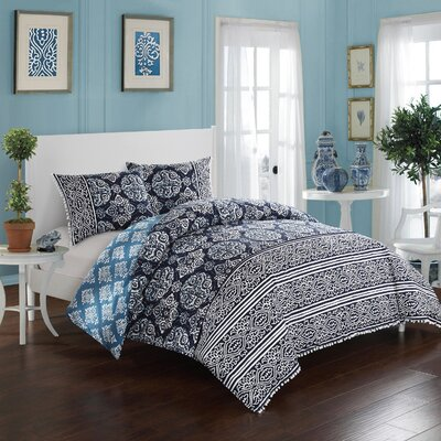 Magical Medallion Comforter Set Size: Full/Queen
