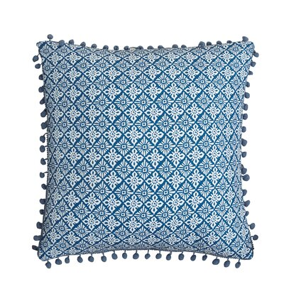 Magical Medallion Cotton Throw Pillow