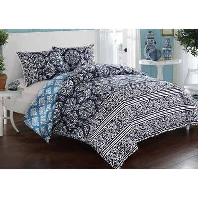 Magical Medallion Duvet Set Size: Full/Queen