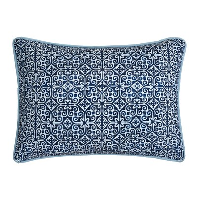 Magical Medallion Cotton Lumbar Pillow