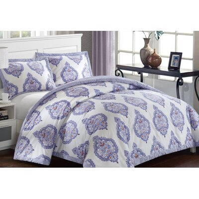Grand Palace Comforter Set Size: Full/Queen