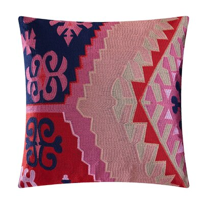 Sarita Garden Cotton Throw Pillow