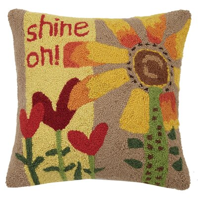 Shine On Wool Throw Pillow