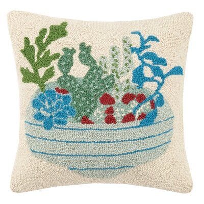 Arboretum Hook Wool Throw Pillow