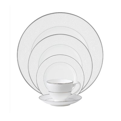 Baron's Court Bone China 5 Piece Place Setting, Service for 1 024258313569