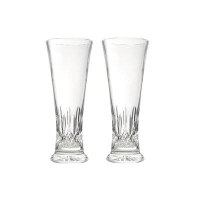 Lismore Pilsner Crystal Pint Glass 024258402607