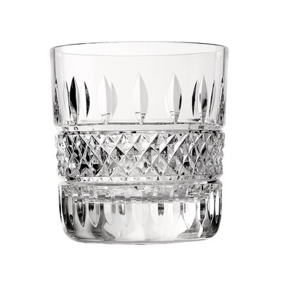 Irish Lace Double Old Fashion 12 oz. Crystal Cocktail Glass 024258449817