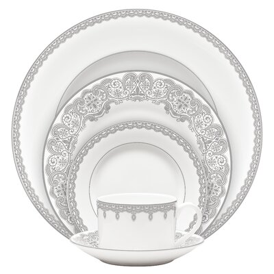 Lismore Lace Bone China 5 Piece Place Setting, Service for 1 160632
