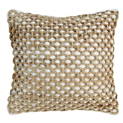 Jada Throw Pillow Color: White